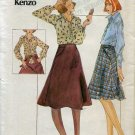 vintage Uncut Kenzo Sewing Pattern Butterick 3928