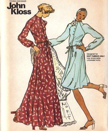Vintage Butterick 3398 John Kloss Young Designer sewing pattern