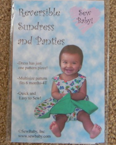 SewBaby Reversible Sundress and Panties Pattern