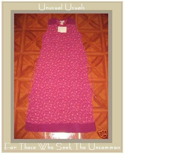 NWT APRIL CORNELL Stunnning Wine Vivianne Dress MEDIUM M