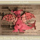 Creative Dragon Folk Art Toy Doll Paper Puppet ACEO ATC