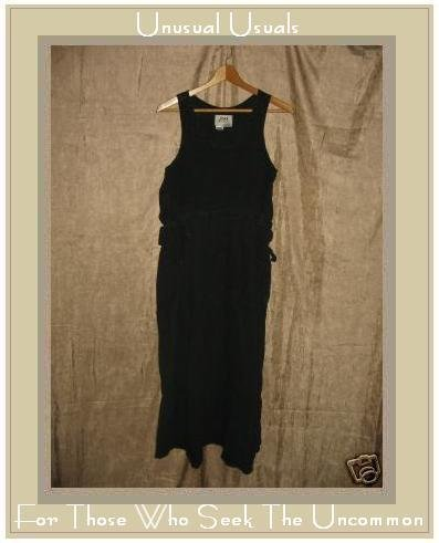 FLAX by Jeanne Engelhart Long Adjustable Jumpette Dress PETITE PS