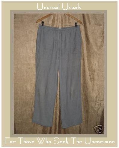 J. JILL Soft Gray Corduroy Pants Slacks Size 12 MEDIUM M
