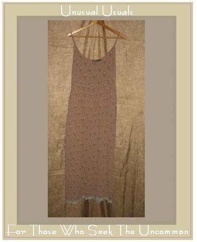 ECOTE Vintage Roses & Lace Empire Waist Dress Medium M