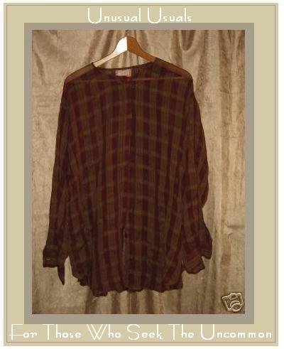 APRIL CORNELL FABULOUS PLAID BUTTON SHIRT TOP SMALL S