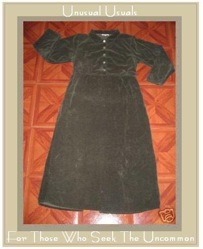 SUBTLE TONES BRUSHED COTTON BUTTON DRESS SMALL MEDIUM