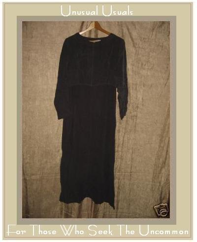 CUT LOOSE Long Purple Bemberg Rayon Pullover Dress SMALL S