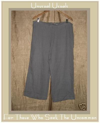 SOLITAIRE Lavender LINEN Drawstring Pants X- Large XL