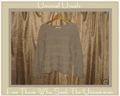 FLAX By Angelheart Sage Sweater Jeanne Engelhart SMALL S MEDIUM M