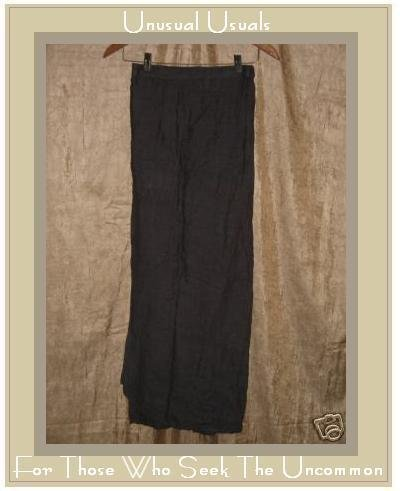 Flax by Jeanne Engelhart Earthy Purple Wrap Skirt Small S