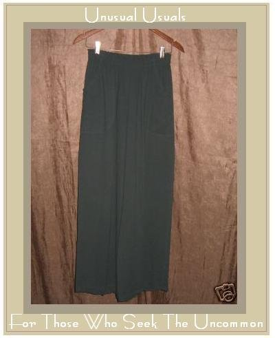 Barbara Balluffi Boutique Wide Leg Flood Pants Medium M