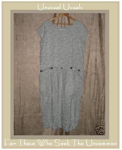 Angelheart Designs by Jeanne Engelhart FLAX Dress Large L