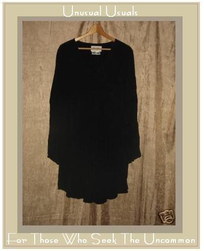 FLAX Flowing Tunic Top Dress Jeanne Engelhart Small S