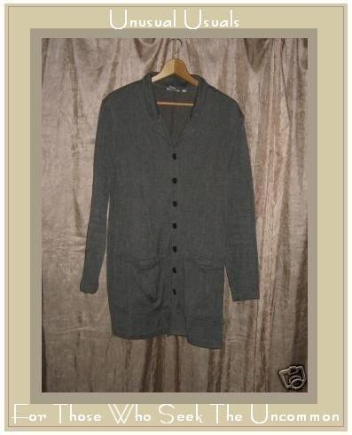 Chico's Design Heavy button down cotton jacket Size 1 Small S