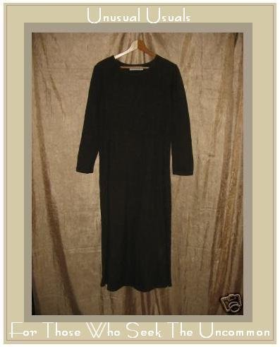 WILLOW Long Soft Earthy Brown Pullover Dress Medium M