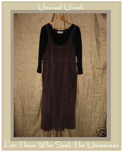 Angelheart Designs by Jeanne Engelheart Velour Dress Petite P