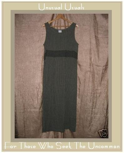 Sweet Jessie Shapely Striped Pullover Dress Large L