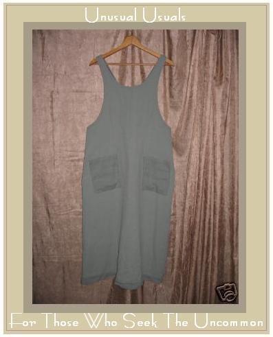 Cute ROSEY Boutique Sage Green Jumper Jump Dress Large L