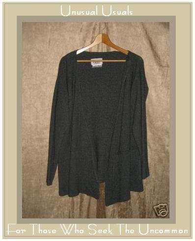 Flax by Angelheart Wrapped Tunic Sweater Engelhart Small S Medium M