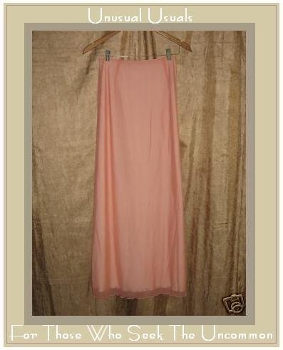 Fabulous CLEA Long Pink BOUTIQUE SKIRT Lined X-SMALL XS