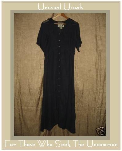 Angelheart Designs by Jeanne Engelhart Blue Dress Flax Petite P