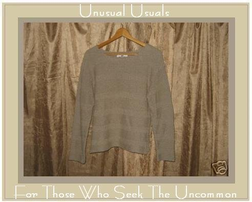 FLAX By Angelheart Sage Sweater Jeanne Engelhart Medium M Large L