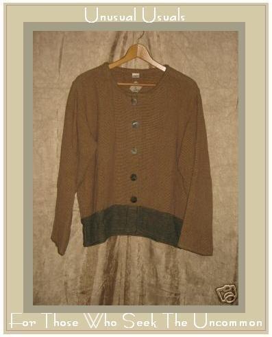 TRIBE Boutique Earthy Cotton Jacket Shirt Top Medium M