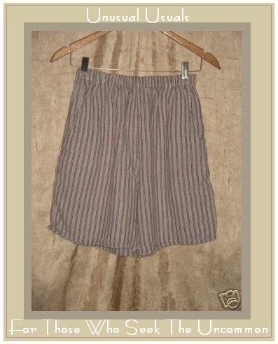 Flax by Jeanne Engelhart Striped LINEN Shorts Petite P