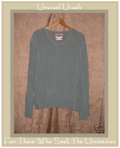 FLAX Shapely Shirt Tunic Top Jeanne Engelhart Small S