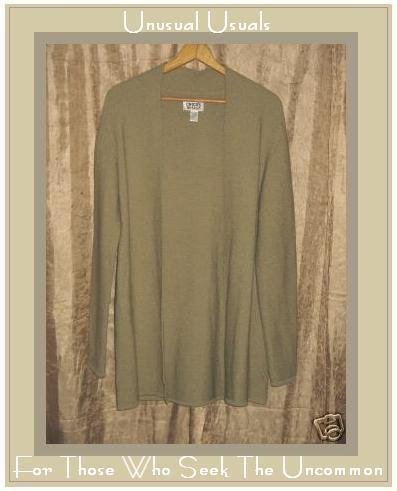 CHICO'S DESIGN NUBBLY KNIT CARDIGAN SWEATER SIZE 1 Small Medium S M