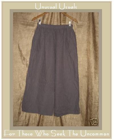 Bryn WALKER Boutique Lavender LINEN Flood Pants Small S