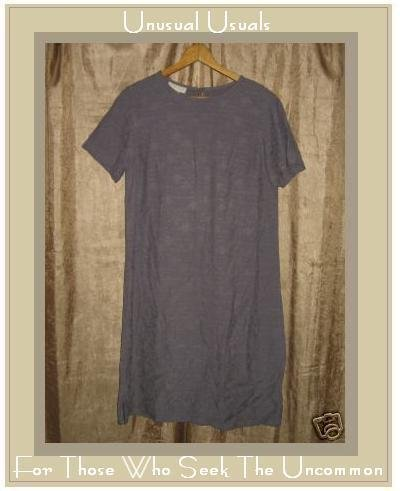 J. JILL SHAPELY PURPLE FLORAL RAYON DRESS SMALL TALL ST