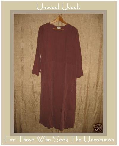 FLAX by Angelheart Berry SILK DRESS Jeanne Engelhart Small S
