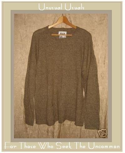FLAX by Angelheart Pocket Tunic Sweater Engelhart Small Medium S M