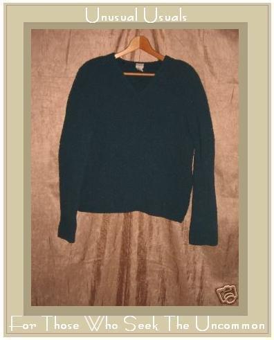 J. Jill Soft Jewel Blue Nubby Knit Pullover Sweater Top Small S