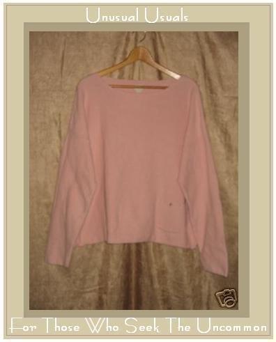 J. Jill Soft Pink Knit Pullover Sweater Top Large L
