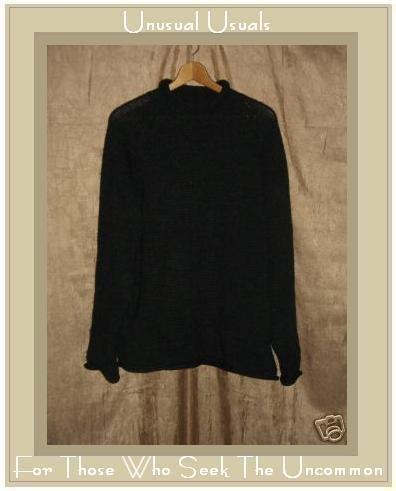 J. Crew Charcoal Gray Wool Turtleneck Tunic Sweater Medium M