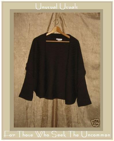 CO & EDDY Soft Wide Ribbed Shawl Neck Cardigan Sweater L XL