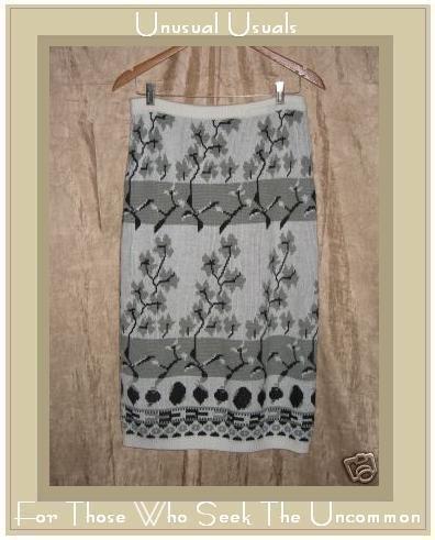 ORGANICALLY GROWN Long Knit Sweater Skirt Medium M