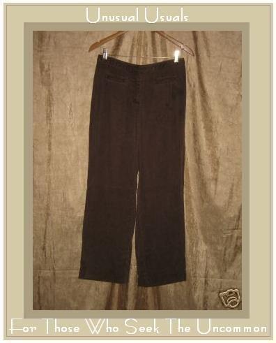 J. JILL Soft Brown Tencel Pants Slacks Size 6 Petite XS S