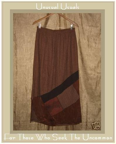 A. Spence by SPENCER ALEXIS Long Earth Tone Skirt X-Large XL