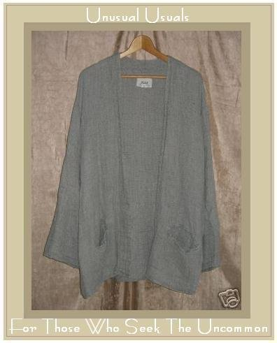FLAX by Jeanne Engelhart THERMAL 96 BREEZY JACKET Top Large L