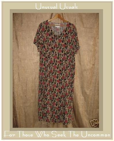 FLAX by Jeanne Engehart Thirties Theme Tropics Dress 1G