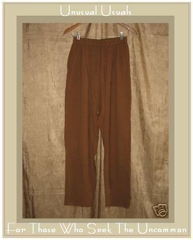 EILEEN FISHER Silk Slacks Pants Small Medium S M