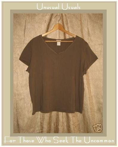 J. Jill Soft Brown Knit Pullover shirt top X-Large XL