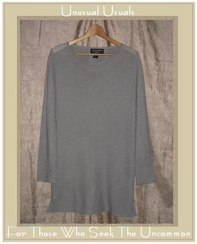 COLETTE MORDO for SADIMARA Light Slinky Knit Tunic Sweater Top Medium M