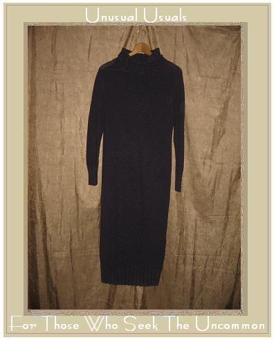 J. Jill Long Purple Knit Turtleneck Dress X-Small Petite XSP