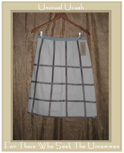 New Neesh by D.A.R. Ribbon Trimmed Skirt Small S