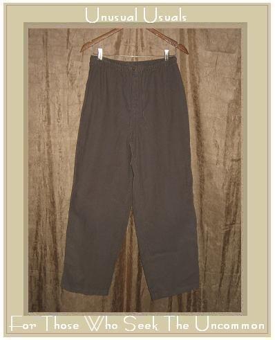 J. JILL Soft Gray Corduroy Pants Slacks Medium M