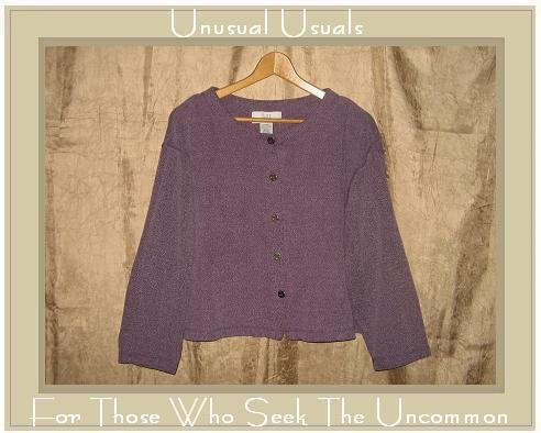 KN KAREN NEUBURGER Soft Purple Button Shirt Top Large